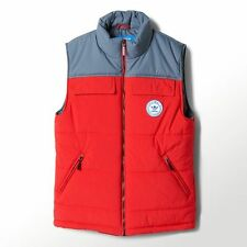 NEW Men's Adidas Originals Praezision Vest Size: Small Color: Red
