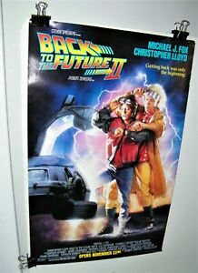 BACK TO THE FUTURE PART 2 Poster 1989 VINTAGE II Original Release Poster N.M.