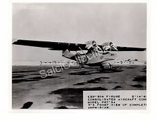 Historic US Navy Aircraft  Consolidated Catalina PBY-5 Official Photo 8x10