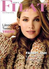 Lana Grossa FILATI Magazin 56 Journal H/w 2018 Farbflash