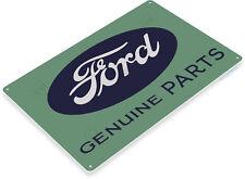 TIN SIGN Ford Parts Retro Metal Décor Sales Service Auto Shop Garage A377
