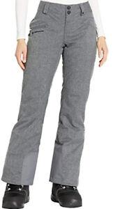 Obermeyer Malta Snow Pants - Women's Size 8L, Charcoal NEW