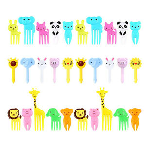 Fruit Fork Decorative Sign Toothpicks Tableware Safe Child Lunch Box Accessories