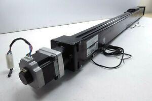 "Tolomatic BCS15 Screw Drive Actuator,  Moons Stepper 23HS1034.  30"" Stroke"