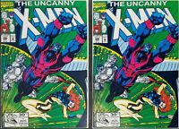 2 Copies of Uncanny X-Men #286 NM 9.4 1992 Unread Beautiful!