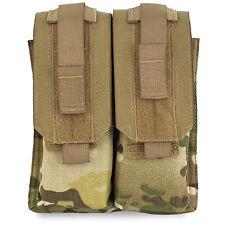 Bulldog MOLLE Double M4 / SA80 Mag Magazine Ammo Military Pouch MTP Multicam NEW