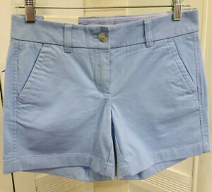 """NWT Light Blue Southern Tide 5"""" Shorts Womens Size 00 Stretch Adorable"""