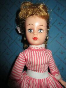 1950's MISS NANCY ANN FASHION DOLL Blonde Ponytail w Tagged Outfit