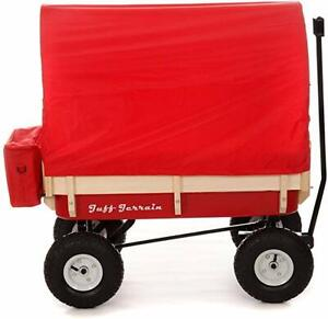 Wagon Canopy-kit to fit cover to retro wagen pull along kart trailer radio flyer