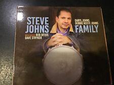 CD Steve Johns - Family   Strikezone Records