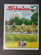 1969 Schwinn Orange Lemon Peeler Sting Ray Krate Fastback Bicycles Bike AD