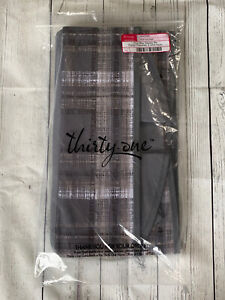 Thirty One Your Way Display Bin In Cozy Plaid Retired 31 New In Package