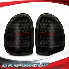 For Dodge Grand Caravan Durango Voyager Plymouth LED Tail Lights Black Smoke
