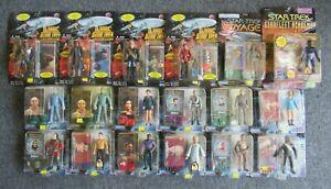 Lot of 18 Random Star Trek Deep Space Nine First Contact Star Fleet Voyager ...