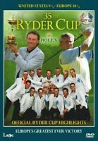 The 35th Ryder Tasse Officiel Faits Marquants (2004) DVD Neuf / Scellé Tigre