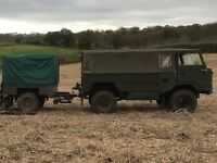 Land Rover 101, forward control, L/H/D, Fully restored and used as a gun bus.