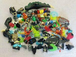 LEGO Bionicle Heads Mask Helmets Bundle Parts Pieces Job Lot Weapon Head Face
