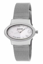 Invaders INV-AVWW085 White dial mesh Steel Chain Watch For Women/Girls
