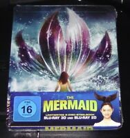 The Sirène 3D Limitée en Relief steelbook Édition Double blu ray Neuf & Ovp