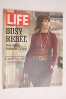 Life 1971 jane Fonda busy Rebel April Cancer Test Gambol Delco TWA Hotpoint M04