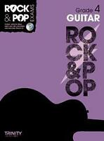TRINITY ROCK & POP EXAMS Guitar Grade 4 + CD*