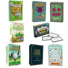 Gift Republic Trivia Quiz Cards Games Family Dinner Party Movie After Dinner