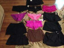 Choice1 NEW women size 8 10 12 M L XL 2XL SKIRT BLK XL black,PURPLE bottom swim
