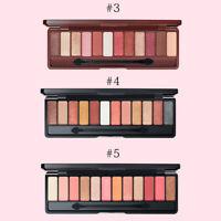 Color Palette Eyeshadow Matte Glitter Smokey Geometric Eye Shadow Make Up GW