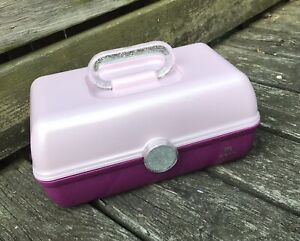 NEW Ulta Beauty Box Caboodles Edition in Pink Purple Sparkly EMPTY