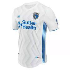 Adidas San Jose Earthquakes (Men's Size M) Away Soccer US Football Jersey MLS