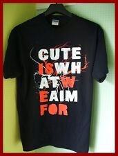 CUTE IS WHAT WE AIM FOR - GRAPHIC T-SHIRT (S) (M) (L)   NEW & UNWORN