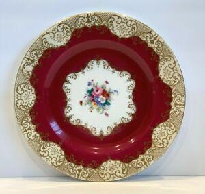 Vintage Crown Staffordshire Porcelain Dinner Plate A14241