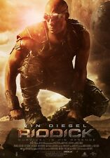 Riddick movie poster : Vin Diesel poster : 11 x 17 inches