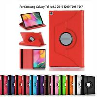 360 Rotating PU Leather Case Cover For Samsung Galaxy Tab A 8.0 (2019) T290/T295