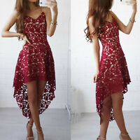 women sleeveless vneck floral lace dress cocktail formal