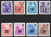 East Germany 8 Stamps c1954 Unmounted Mint Never Hinged (8188)