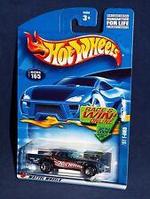Hot Wheels 2002 Mainline #165 '57 T-Bird Blue Race Team #7 w/ 5SPs