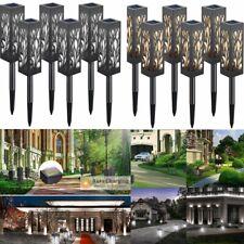 Waterproof Solar Power Garden Lights Outdoor LED Path Lawn Landscape Light