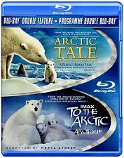NEW BLU-RAY- ARCTIC TALE  + IMAX - TO THE ARCTIC w MERYL STREEP & PAUL McCARTNEY