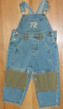 Infants Boys Classic Faded Glory Brand Denim Overalls size 24 Months / 24x11