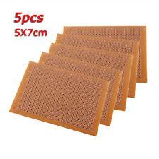 5PCS 5x7CM DIY Prototype Paper PCB Universal Experiment Matrix Circuit Board AT