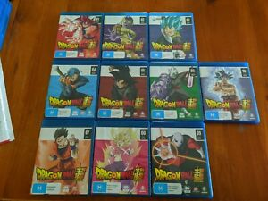 Dragon Ball Super Complete Collection Part 1-10 Blu Ray Like New
