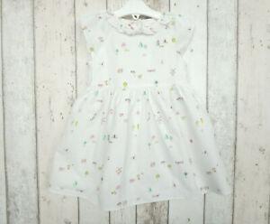 Pretty Baby Girl Scenic Print Dress - Next (12 - 18 months)