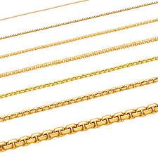 Massive  Goldkette Venezianerkette 333 - 585 - 750 echt Gold Juwelier Qualitõt