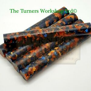 WOOD-TURNING -  5 x Erinoid Aspen Pen Blanks
