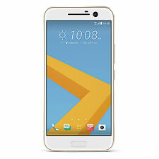 "BNIB HTC 10 32GB Topaz Gold 5.2"" Inch Factory Unlocked 4G/LTE 3G 2G GSM Simfree"