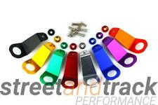 Refroidisseur support bracket Aluminium Couleur Anodisé Honda Civic, CRX, del sol-rouge