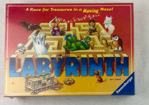 """Labyrinth Board Game By Ravensburger """"Race for Treasures"""" New in Box"""