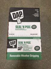 New listing Dap 18354 Seal 'N Peel Removable Clear Caulk, 10.1-Ounce 12pk