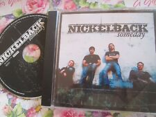 Nickelback ‎– Someday  Roadrunner Records RR PROMO 731 ‎Promo UK CD Single